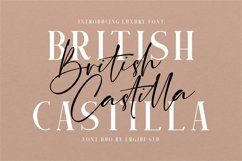 British Castilla - Luxury Font Duo Product Image 1