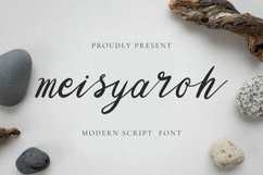 Meisyaroh Font Product Image 1