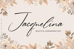 Jacquelina Beautiful Handdrawn Font Product Image 1