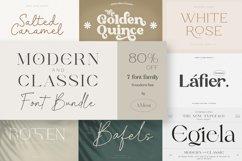 Modern & Classic Font Bundle Product Image 1