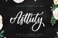 Asttuty Beauty Script Font Product Image 1