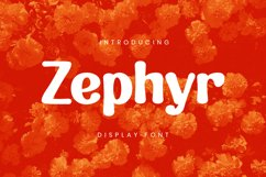 Zephyr Font Product Image 1