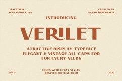 Verilet Font Product Image 1