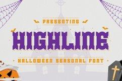 Highline Font Product Image 1
