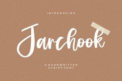 Jarchook - Handwritten Script Font Product Image 1