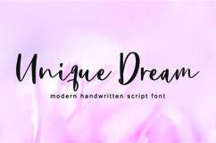 Unique Dream Font Product Image 1