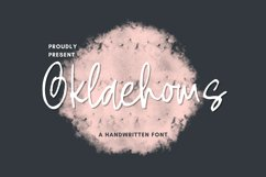 Oklaehoms Font Product Image 1