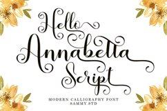 Hello Annabetta Script Product Image 1