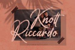 Knott Riccardo - Handwritten Font Product Image 1