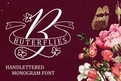 Butterflies Monogram Product Image 1