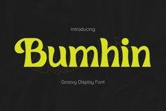Bumhin Font Product Image 1