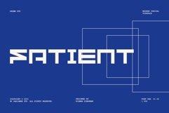 GR Fatient - Modern Cubical Typeface Product Image 1