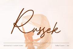 Russek - Elegant Calligraphy Product Image 1