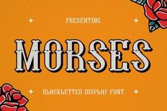 Morses Font Product Image 1