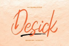 Desick Modern Script Product Image 1