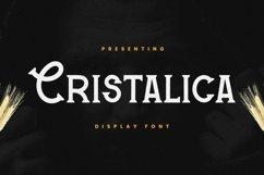 Cristalica Font Product Image 1
