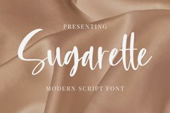 Sugarette Font Product Image 1