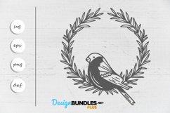 Bird wreath SVG Product Image 2