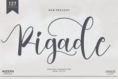 Pigade   handwritten font Product Image 1