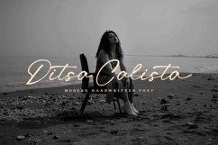 Ditsa Calista - Modern Handwritten Font Product Image 1