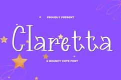 Claretta Font Product Image 2