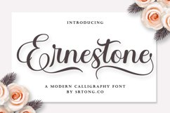 Ernestone Script Product Image 1