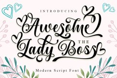 Awesome The Lady Boss Product Image 1