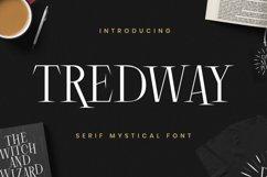 Tredway Font Product Image 1