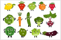 Fruits and Vegetables Characters Product Image 2