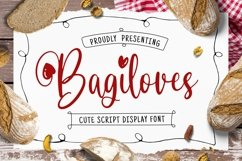 Bagiloves Font Product Image 1