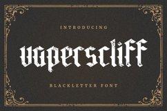 Vaperscliff Font Product Image 1