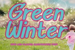 Green Winter Product Image 1