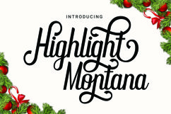 Highlight Montana Product Image 1