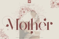 Mother Serif Typeface - 5 weights Product Image 1