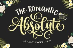 The Romantic Absolute Font Duo Product Image 1