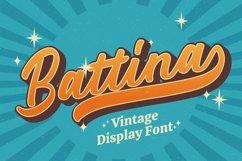 Battina - Vintage Display Font Product Image 1