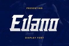 Evano Font Product Image 1