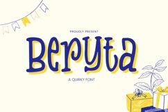 Beryta Font Product Image 1