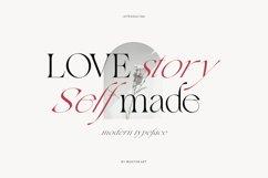 Love Story Self Made | Modern Serif Product Image 1