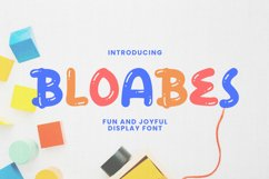 Bloabes Font Product Image 1