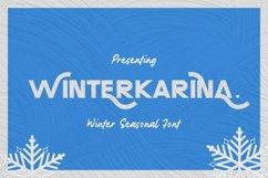 Winterkarina Font Product Image 1
