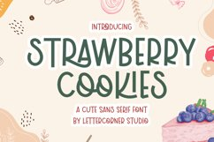 Strawberry Cookies Product Image 1