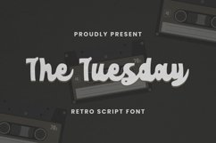 The Tuesday Font Product Image 1