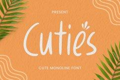 Cuties Font Product Image 1