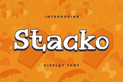 Stacko Font Product Image 1