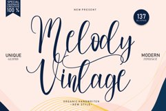Melody Vintage | handwritten font Product Image 1