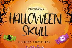 Halloween Skull Product Image 1