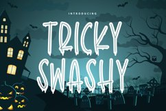 Tricky Swash - Halloween Font Product Image 1
