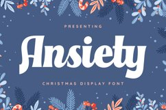 Ansiety Font Product Image 1