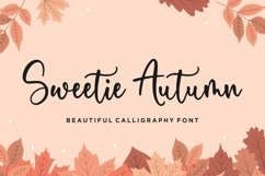 Sweetie Autumn Beautiful Calligraphy Font Product Image 1